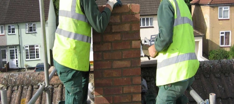 Chimney Rebuilding South Dublin and Dun Laoghaire