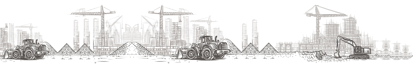 Construcction image footer background
