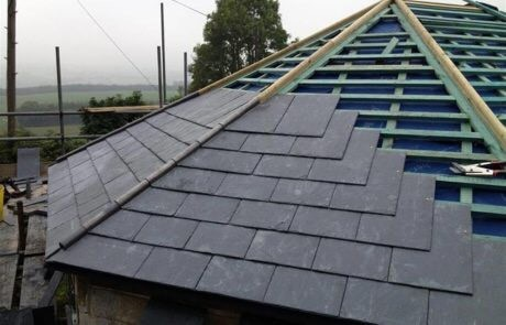 Slate Roof Extension