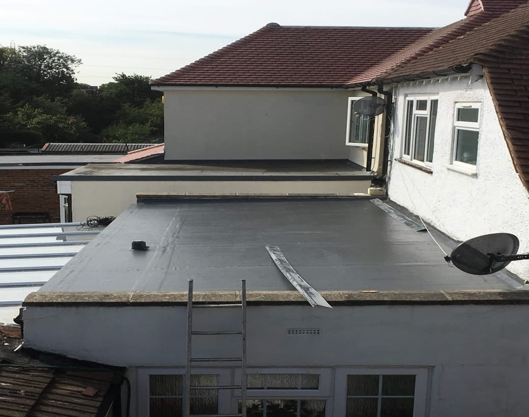 Finished Fibre Glass Roofing
