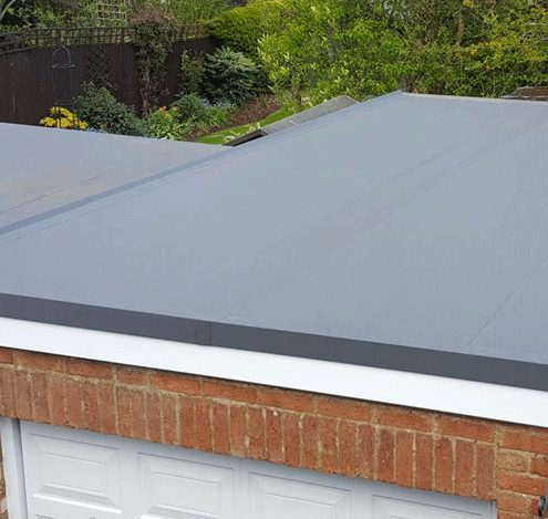 Garage Flat Roof Rennovation