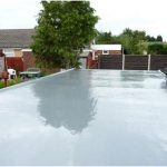 Fibreglass Garage Flat Roof