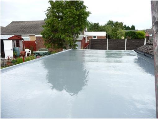 Fibreglass Garage Flat Roof