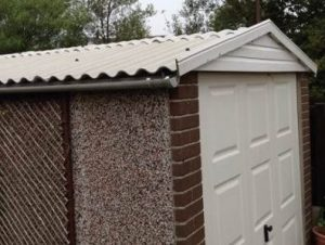 corrugated shed roofing